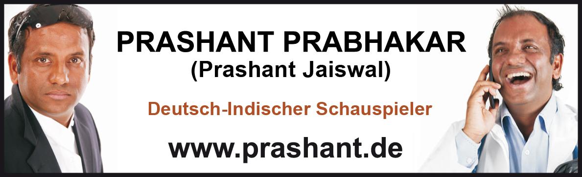Prashant, Schauspieler, Model, Sprecher